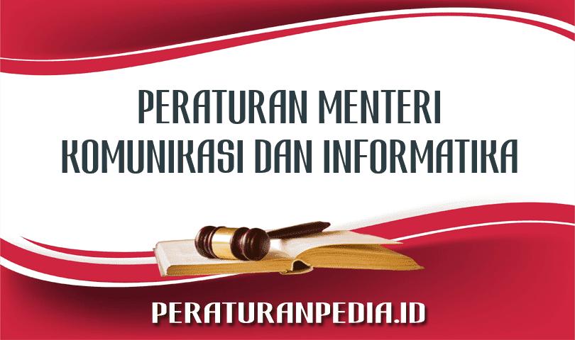 Peraturan Menteri Komunikasi dan Informatika Nomor 17 Tahun 2013