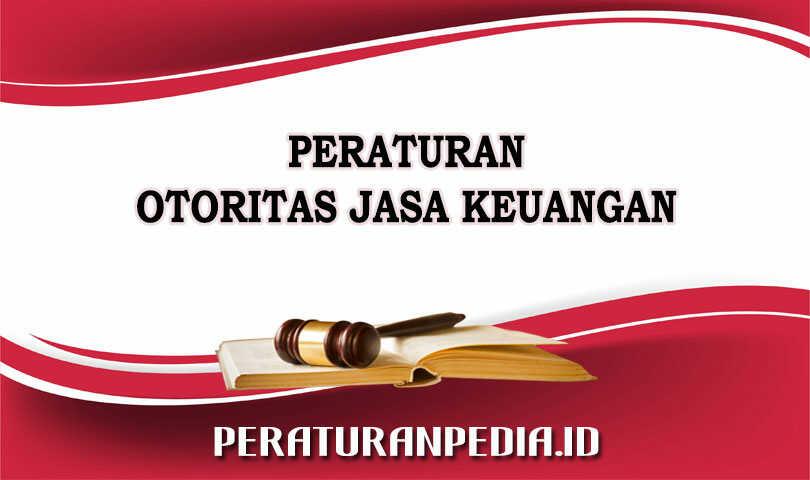 Peraturan Otoritas Jasa Keuangan Nomor 12/POJK.03/2019